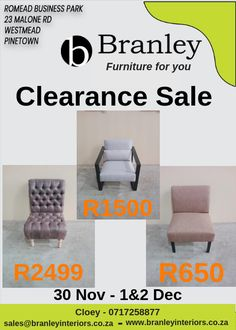 Clearance Sale Occasional Chairs from Contact the warehouse on 0717258877 for further info. Furniture For You, Quality Furniture, Lounge Suites, Wholesale Furniture, Occasional Chairs, Clearance Sale, Warehouse, Ottoman, Armchair