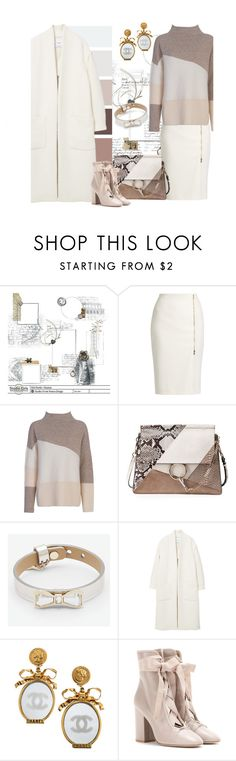 """""""Put a Bow on it"""" by alynncameron ❤ liked on Polyvore featuring MaxMara, French Connection, Chloé, Ted Baker, MANGO, Chanel, Valentino and bows"""