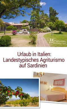 Hotel Sa Mola (Italien/Sardinien): Landestypisches Agriturismo auf Sardinien / Typical agriturismo on Sardinia