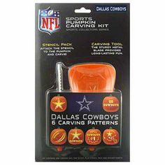 Dallas Cowboys Pumpkin Carving Kit