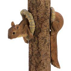 Woodland Squirrel Tree Decor Animal Wall Tree Home Garden Yard Outdoor Lawn Art #HomeLocomotion