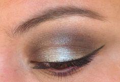 my favorite way to wear a smoky eye ... #blue #smoky #eyeshadow