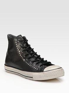 Converse John Varvatos Studded Leather High-Tops
