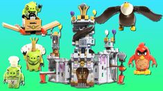 Angry Birds LEGO set featured in this video: King Pig's Castle King Pig has hidden the eggs at the top of his 🏰 castle but Angry Bird Red and Mighty Eagle ar. Lego Toys, Bird Toys, Stop Motion, Angry Birds, Pigs, Eagle, Red, Pork, Baby Pigs