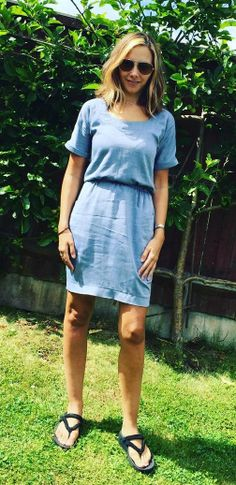 Sarah's Bettine dress - sewing pattern by Tilly and the Buttons