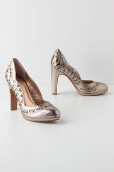 Petal-Scalloped Pumps in October 2012 from Anthropologie