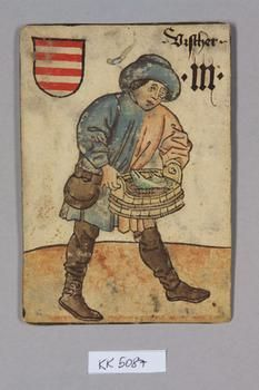 "Fischer [Fisherman] Ungarn [Hungary], ""Hofämterspiel"" for King Ladislas ""Posthumus"", c. 1455"