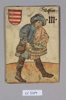 """Fischer [Fisherman] Ungarn [Hungary], """"Hofämterspiel"""" for King Ladislas…"""
