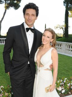 Pin for Later: 21 Famous Women Who Hit It Off With Younger Men Kylie Minogue and Andres Velencoso