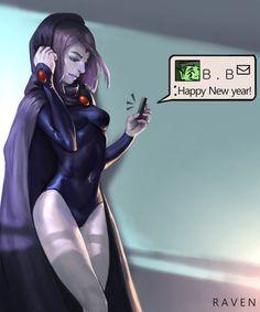 Teen Titans- Raven
