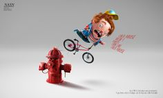 Print campaign created to teach to the nurses to recognize some signs of abuse of the childs