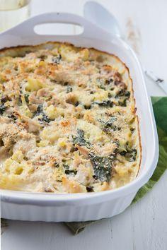 Cauliflower Chicken Casserole (rotisserie chicken)