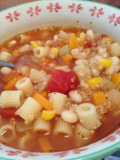 Quinoa Soup | Vegan Restaurant Finder