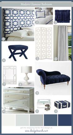 Modern Glamour Bedroom 5_DesignBoard