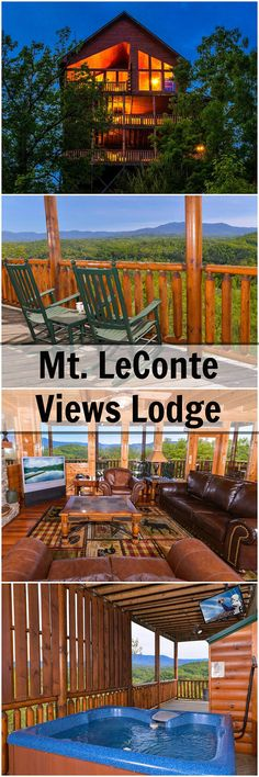 LeConte Views Lodge Is Located In The Starr Crest Resort Near Pigeon Forge  TN. Reserve Our Cabins Online