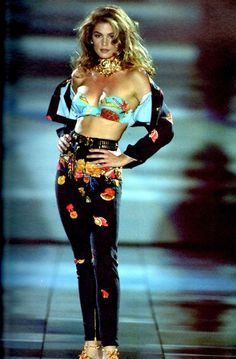 Versace Spring/Summer 1992 Model Cindy Crawford