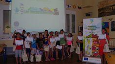 1°groupe: Sensibilisation, animation et communication sur les économies d'énergie, d'eau et de CO2 pour les enfants. © Azzura Lights - Tous Droits Réservés