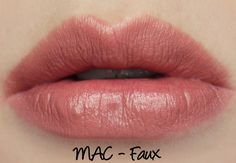 MAC Faux Lipstick Swatches & Review