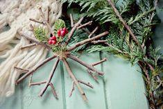 Sólo con dar una vuelta por el bosque o algún parque cercano vamos a poder hacer todos estos DIY navideños.
