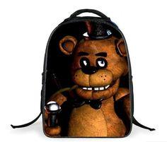 9f5ae55c76 16-inch Cartoon Five Nights At Freddys School Bags Backpack Children  Schoolbags For Teenagers Boys Girls School Book Bag Kids