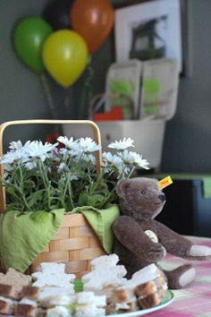 Teddy bear picnic Byob (bring your own bear) http://www.theatreofyouth.org