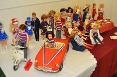 Sindy has a Jubilee party British Fashion @nixieclothing #nixiedjubilee