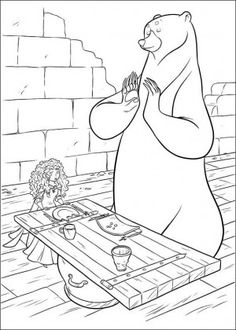 38 best Brave coloring book images on Pinterest   Coloring books ...
