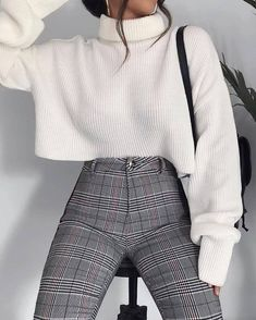 Fashion outfits Outfits Winter outfits Fashion Elegant outfit Sixth form outfits - 100 Outfits I like and I will definitely try - Casual Winter Outfits, Winter Fashion Outfits, Look Fashion, Stylish Outfits, Autumn Outfits, Womens Fashion, Outfit Winter, Summer Outfits, Fashion Clothes