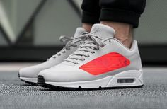 Get The Nike Air Max 90 Big Logo Light Crimson Now