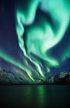 i-long-to-travel-the-world:  Stunning Photos of the Aurora Borealis in Norway - If you love this beautiful picture, like it. We post stuff j...
