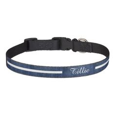 Check out our huge selection of Denim pet collars. Make sure your pet can be easily spotted thanks to one of our cool collars. Pet Collars, Your Pet, Puppies, Dog, Denim, Pets, Accessories, Diy Dog, Cubs