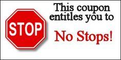 no stops coupon