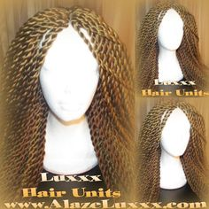 Blonde 27/30 Handmade Silky Senegalese Twist Wig Unit! NEW Natural Look! Glueless Lace Finish! Wigs Senegalese Twist Wig