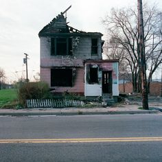 Abandoned, city, creative, detroit, house, Photography, inspiration,