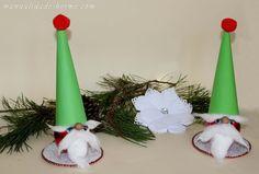 Cómo hacer un gnomo para decorar en Navidad