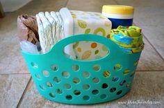 Emergency Diaper Change Car Kit