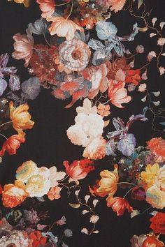 Found floral pattern via patternatic