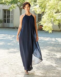 ee8eabec Joanna Hope Navy Swing Maxi Dress | J D Williams #weddingdressesjdwilliams