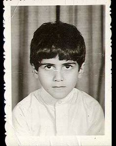 An image of Osama bin Laden's son, Omar bin Laden, at age 6, the year his family moved to Medina and he started school