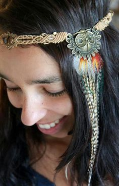 Lubb lubb dis hippie headband.