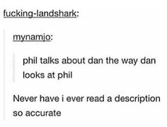 This Gave Me Feels.  Not Going To Lie. // Dan Howell // Danisnotonfire // Phil Lester // AmazingPhil