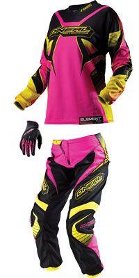 pink dirt bike gear - Google Search