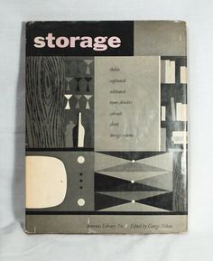 """'Interiors Library Volume 4:  Storage'  edited by George Nelson  