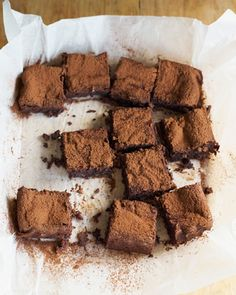 This definitive chocolate brownie recipe has a gooey centre and outer crunch. Brownie recipes don't come better than this.