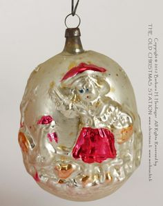 vintage angel christmas tree ornaments - Google Search