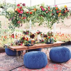 18 Hanging Flower Displays for Your Wedding