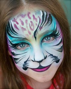 Pixie's Face Painting & Portraits - tiger