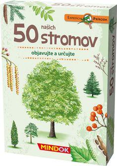 S kartami v tejto škatuľke zvládnete jednoducho určiť 50 našich listnatých a ihličnatých stromov. Na kartách nájdete kvízovú otázku, názornú ilustráciu, základné informácie a tiež niekoľko zaujímavostí. Ideálny sprievodca pre všetkých milovníkov prírody! Adult Games, Games For Kids, Game App, Table Games, Most Beautiful Pictures, In The Heights, Told You So, Books, Games For Children