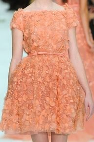 Tulle, lace and color