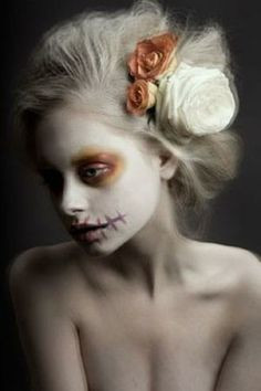 Almost like a ghost. Sugar Skull